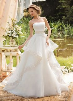 Gorgeous ~ Wedding Dresses by Papilio 2014 | bellethemagazine.com
