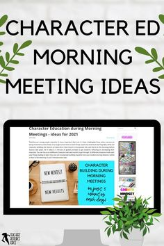 It is tough to find time to teach those social and emotional learning (SEL) skills and character building, but there is an ideal time I have found to incorporate this, and that is in the mornings before lessons take place. All it takes is 5 minutes of guided prompts to get students reflecting on developing their character! #morningmeetings #charactereducation Teaching Character, Character Education, Character Development, Personal Development, Help Teaching, Teaching Strategies, Teaching Resources, Growth Mindset Display, Growth Mindset Activities