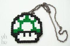 Super Mario Necklace by UHHU on Etsy, $9.50