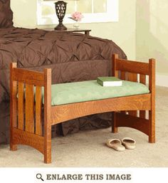 Arts And Crafts Mission Bench Woodworking Plan, Indoor Home Furniture  Project Plan | WOOD Store