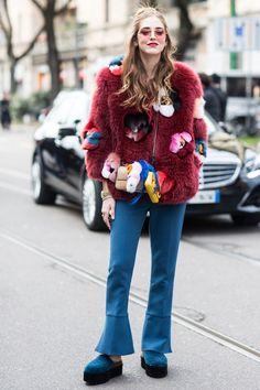 Street look à la Fashion Week automne-hiver 2016-2017 de Milan http://www.vogue.fr/mode/street-looks/diaporama/fwah2016-street-looks-la-fashion-week-automne-hiver-2016-2017-de-milan/25952#fwah2016-street-looks-a-la-fashion-week-automne-hiver-2016-2017-de-milan-39 Photos par Sandra Semburg