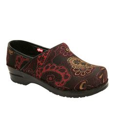 Take a look at this Bordeaux Original Professional Idella Clog - Women by Sanita on #zulily today!