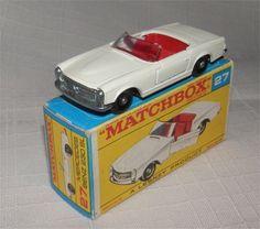1960s.Lesney.Matchbox.27 MERCEDES-BENZ 230 SL BPW.MINT IN BOX.ALL Original | eBay