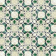 12x12 Sondrio Terra Nova Hand Painted Floor Tile