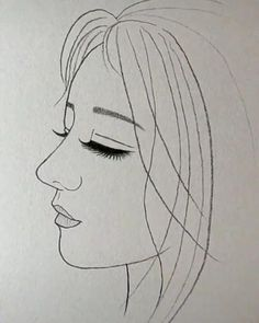 Girl Drawing Sketches, Art Drawings Sketches Simple, Pencil Art Drawings, Easy Doodle Art, Angel Drawing, Pictures To Draw, Trippy, Surface Area, Mark Making