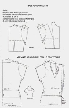 Amazing Sewing Patterns Clone Your Clothes Ideas. Enchanting Sewing Patterns Clone Your Clothes Ideas. Sewing Patterns Free, Sewing Tutorials, Clothing Patterns, Sewing Projects, Sewing Dress, Love Sewing, Techniques Couture, Sewing Techniques, Pattern Cutting