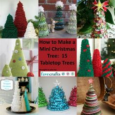 How to Make a Mini Christmas Tree: 15 Tabletop Trees