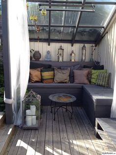 altan Outdoor Lounge, Outdoor Living, Outdoor Decor, Terrace Decor, Rooftop Terrace, Diy Jardin, Backyard Bar, Garden Buildings, Home And Living