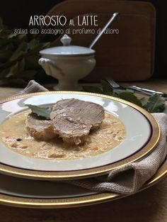 #food #ricette #soniapaladini #arrosto al #latte conferisce un gusto delicato all'arrosto, che a fine cottura si rapprende creando una salsa molto saporita, ideale per accompagnaro