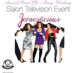 You're Invited! This June we will throw our first event Animal Prints and Binge Watching. The catch is... Yes, you are Binge Watching JERSEYLICIOUS but the episodes will be out of order... Bring your snacks and tune into JERSEYLICIOUS on Salon Television!  #jerseylicious #nailsidoadorecollectionsalontv #nailsidoadorecollectionbeautysupplystore #idonails #cosmetology #beautyindustry #spa #barbers #nailtechs #cosmetologist #estheticians #massagetherapist #blackownedtvstation #blackowned…