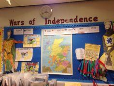 Scottish Wars of Independence Display