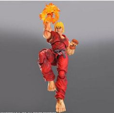 "Square Enix Ken ""Super Street Fighter 4 IV"" Play Arts Kai Action Figure - Fun Store Online"