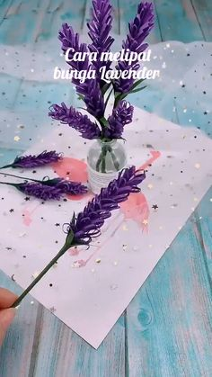 Paper Flowers Craft, Paper Crafts Origami, Flower Crafts, Diy Flowers, Origami Flowers, Flower Diy, Origami Butterfly, Peony Flower, Lavender Flowers