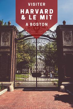Le guide ultime pour visiter l'université de Harvard et le MIT Massachusetts Institute of Technology à Boston, Massachusetts ! #harvard #mit #boston #massachusetts http://www.passionamerique.com/visiter-harvard-mit-boston/