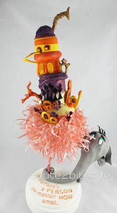 "Horton Hears a Who-""We're all a little Seussy"" Collaboration by 2cute2biteMe(Ozge Bozkurt)"