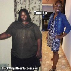 Weight Loss Story of the Day: Tamiko lost 132 pounds | Black Weight Loss Success