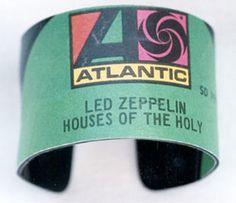 Vintage Vinyl Record Bracelet