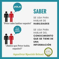 El verbo saber en español. ¿Cuándo usamos sbaer en español? #A1 #A2 #spanish #spanishcourse