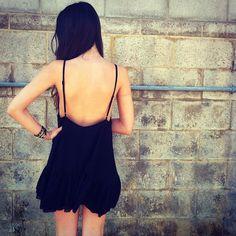 low back // simple dresses