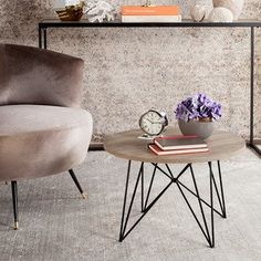 Shop for Safavieh Mid-Century Modern Vida Light Grey / Black End Table. Get free shipping at Overstock.com - Your Online Furniture Outlet Store! Get 5% in rewards with Club O!
