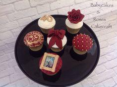 Ruby Wedding Anniversary Cupcakes @Babycakes & Roses Cakecraft 15 Year Wedding Anniversary, Anniversary Cupcakes, 40th Wedding Anniversary, Anniversary Parties, Anniversary Ideas, Cupcake Cakes, Cupcake Ideas, Wedding Cupcakes, Sweet Treats