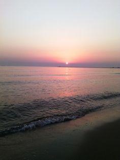 #sunrise #poland #sea