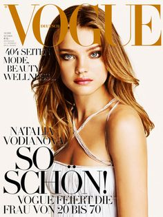 Natalia Vodianova by Patrick Demarchelier Vogue Deutsch October 2005