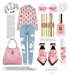 """""""Untitled #124"""" by coffeegirl233 ❤ liked on Polyvore featuring Prada, Topshop, Belk & Co., Marques'Almeida, ZeroUV, Yves Saint Laurent, Chloé and Madara"""