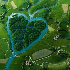 The Heart River, North Dakota