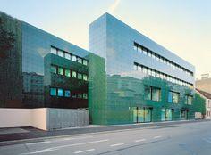Herzog & DeMeuron - Rossetti Institute for Hospital Pharmaceuticals, Basel 1998. (C) Margherita Spiluttini.