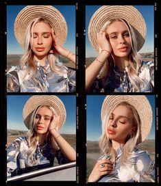 Portra 400, Kodak Portra, Polaroid Frame, Kodak Film, Photo Collage Template, Nude Makeup, Frame Template, Selfie Time, Blue Aesthetic