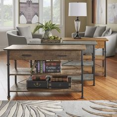 Shop for Myra Vintage Industrial Modern Rustic Media TV Stand Console by TRIBECCA HOME. Get free shipping at Overstock.com - Your Online Furniture Outlet Store! Get 5% in rewards with Club O!