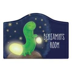 $14.46 | Cute green glow worm cartoon illustration #glowworm #cute #cartoon #illustration #insect #bug #summer #caterpillar #glowbug #firefly Kids Door Signs, Foam Adhesive, Dry Erase Board, Room Signs, Acrylic Material, Make Your Mark, Worms, Dinosaur Stuffed Animal, Glow