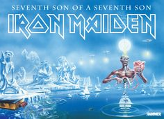 Seventh Son Of A Seventh Son Poster by Metal Hammer