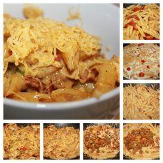 Kremet kylling pasta texmex