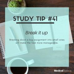 Medical Student Organization Tips Ideas For 2019 Study Motivation Quotes, Study Quotes, School Motivation, Life Hacks For School, School Study Tips, School Tips, Study Techniques, Study Methods, Exams Tips