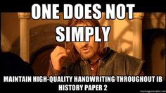 Or a History Paper 1… primary documents will be the end of me