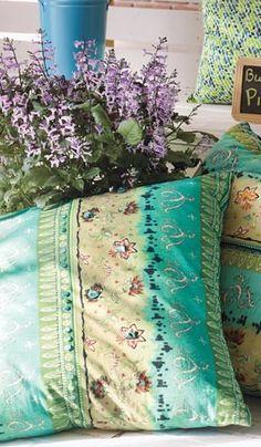 Pier One spring pillows