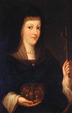 Spanish School. Maria Anna of Austria, Queen Consort of Philip IV of Spain (?), 1570-1650