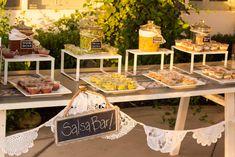 Backyard Wedding Ideas / Salsa Bar / Reality and Retrospect