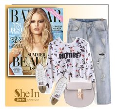 """""""SheIn 1"""" by monmondefou ❤ liked on Polyvore featuring Converse"""