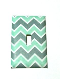 Light Switch Cover Light Switch Plate Mint Green by TurtleboneToo, $8.00