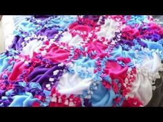Patchwork No Sew Fleece Blanket Tutorial 2019 no sew ideas no sew fleece blanket Powerful Mothering The post Patchwork No Sew Fleece Blanket Tutorial 2019 appeared first on Blanket Diy. Knot Blanket, No Sew Fleece Blanket, Fleece Poncho, No Sew Blankets, Patchwork Blanket, Weighted Blanket, Baby Blankets, Fleece Crafts, Fleece Projects