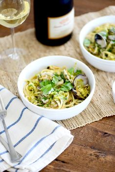 Linguine with Clams-