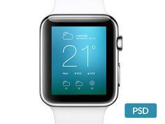 Apple Smart Watch Mockup - http://www.welovesolo.com/apple-smart-watch-mockup/