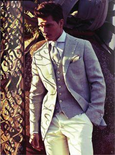 Nice summer suit. Men fashion