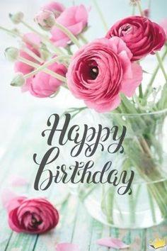 Happy Birthday Flowers Wishes, Cool Happy Birthday Images, Happy Birthday Greetings Friends, Happy Birthday Wallpaper, Birthday Wishes And Images, Birthday Blessings, Happy Birthday Sister, Happy Birthday Messages, Happy Birthdays