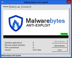Malwarebytes Anti-Exploit 1.12.1.37 Crackis a straightforward piece of software that protects your system's vulnerable points from web-based attacks. Malwarebytes Anti-Exploitprovides the essentialexploit protectionwith proactive technology for browsers and applications.