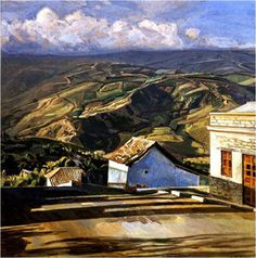 Rincón de Capacho Edo Táchira. Manuel Cabré Venezuelan painter (1890 in Barcelona, Spain 1984 in Caracas) Best known as the master of the Avila Mountain. It was one of the leading figures of the Fine Arts (1912) And among peers can be considered the par excellence landscape. A true guide to the representation of landscape in Caracas. awards among which are: National Painting Prize. Photo A. Zuloaga