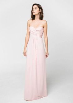 Draped gown - from Mango UK Drape Gowns, Draped Dress, Strapless Dress Formal, Dress Up, Simple Dresses, Beautiful Dresses, Casual Dresses, Formal Dresses, Long Dresses